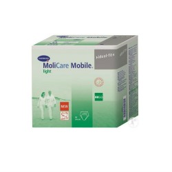 Hartmann MoliCare Mobile Light – Small Σλιπ ακράτειας ημέρας για ελαφριά έως μέτρια ακράτεια 14τμχ