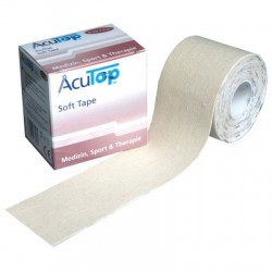 Tape Κινησιοθεραπείας Acu Top Soft (Ρολό 5cm x 5m)